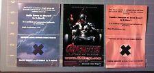 X-men Movie prop JEAN GREY PHOENIX & STORM 2 Costume Swatch lot Janssen & Berry