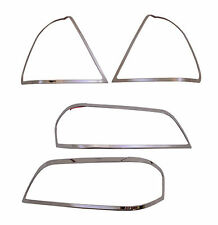 Chrome Headlights/Tail Lights Trim for 94-00 Mercedes W202 C220 C280 C230 C36