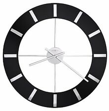 "HOWARD MILLER -625-602  ""ONYX""  625602 GALLERY STYLE CONTEMPORARY 30"" WALL CLOCK"