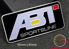 ABT SPORTSLINE EMBLEM SCHRIFTZUG AUDI A3 A4 S4 S3 RS TT S LINE DTM QUATTRO SPORT