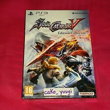 SOUL CALIBUR V SOULCALIBUR V EDITION COLLECTOR  NEUF SOUS BLISTER SONY PS3