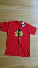 Chicago's Blackhawks T-Shirt - Red - Size S - Reebok NHL