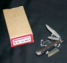 "Imperial Jack Master Knife 804-S 1950-60's Peanut Trapper 3-1/4"" Closed NOS USA"