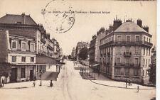 DIJON 44 gare des tramways boulevard sévigné écrite 1916