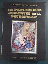 LES PERVERSIONS DISCRÈTES DE LA BOURGEOISIE EROTICA CURIOSA SEXE RARE 1973