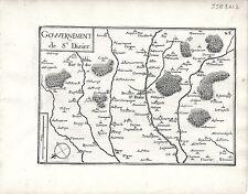 Antico mappe, gouvernement de St. Dizier