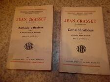 1931.Méthode d'oraison + considérations.Jean Crasset