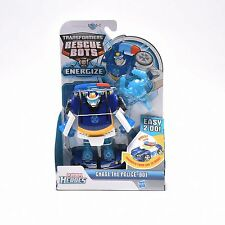 Transformers Playskool Heroes Rescue Bots CHASE THE POLICE-BOT Cadeau Jouet