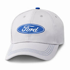 Ford Oval Gray Blue Cotton Hat