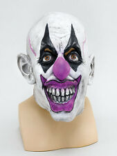 Scary Clown Mask Psycho Circus Batman Joker Halloween Fancy Dress