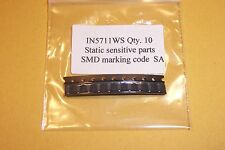1N5711W 1N5711WS RF Shottkty Diodes Qty. 10 NEW Diodes Inc. parts