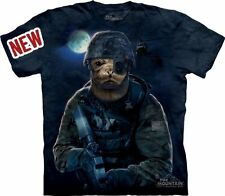The Mountain Adult Unisex Graphic Tee, Navy Seal, 3XL