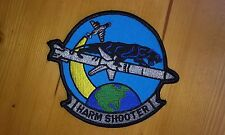 US NAVY AGM-88 HIGH SPEED ANTI-RADIATION MISSILE MILITARY PATCH HARM SHOOTER