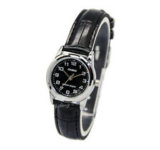 -Casio LTPV001L-1B Ladies' Strap Fashion Watch New & 100% Authentic