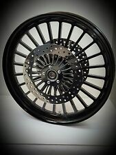 21 x 3.25 HARLEY DAVIDSON ROAD GLIDE GLOSS BLACK LEGEND WHEEL With ABS & ROTORS