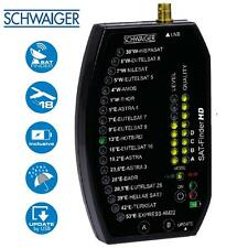 Schwaiger sf9002 HD Professional installazione Satellite Finder metro