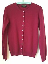 LAdies NEW WITHOUT TAGS Pure Cashmere Cardigan By DENNER (London) Size S