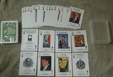 Illuminati, New World Order Playing Cards Lady Gaga, Obama, Skull and Bones