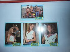 LOT 4 1980 DONRUSS DUKES OF HAZZARD CATHERINE BACH/DAISY DUKE TRADING CARDS