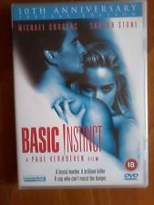 BASIC INSTINCT - SPECIAL EDITION - UK R2 DVD 2-DISC SET - with 4 pic cards - VGC