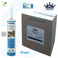 MS POLYMER HANNO 290ML GREY 20 PCS Adhesive sealant for windows and doors