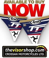 Arai Helmet Ltd Edition IOM TT  2015 Visor Stickers for Joey Dunlop Foundation