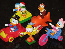 McDonalds Ducktales Full Set of 5 - 1988 Happy Meal toys Duck Tales Disney