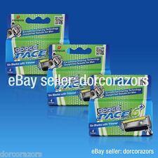 DORCO® PACE 6 Plus Razor Cartridges, 6 Blades w/Trimmer SXA5040 (12 Cartridges)