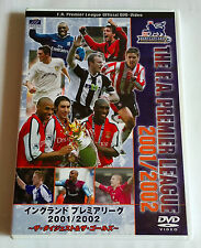 THE F.A. PREMIER LEAGUE 2001/2002 JAPAN DVD Soccer Football Thierry Henry Owen