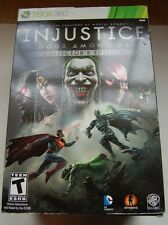 Injustice: Gods Among Us -- Collector's Edition  (Xbox 360, 2013)