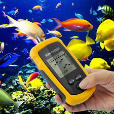 100M Portable Wireless Sonar Sensor LCD Fish Finder Alarm Fishfinder Transducer