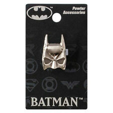 "BATMAN ""MASK"" Pewter Lapel pin DC Comics NEW in PACKAGE"