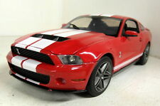 Greenlight 1/18 Scale 12816 2010 Ford Shelby GT500 Bright red Diecast model car