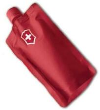 Victorinox Swiss Army Red Flask, Reusable Good For Concert, Outdoors 50108 *NEW*