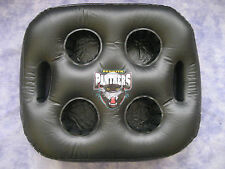 NRL PENRITH PANTHERS INFLATABLE SEAT CUSHION/TRAY 38x31cm (Holds 4 cups) - NEW!