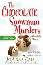 The Chocolate Snowman Murders 8 by JoAnna Carl (2008, Hardcover) Cozy Mystery