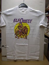 Vintage T-Shirt: Elfquest - Nightshade with Wolf (Wendy Pini) (L) (USA, 1989)