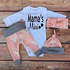 close out Baby girl clothes, baby girl set, mama's mini 4 piece set, coming home