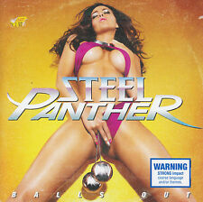 STEEL PANTHER - BALLS OUT CD ~ 10's HEAVY / HAIR METAL *NEW*