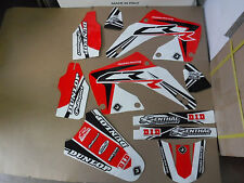 FLU  DESIGNS PTS3 TEAM GRAPHICS HONDA CR125 CR125R CR250 CR250R  2000 2001