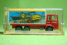 Modellauto - Majorette 214 Saviem Container - LKW - OVP