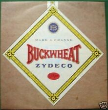 "Buckwheat Zydeco Make a Change Absolutely Excellent Condition 12"" Single"