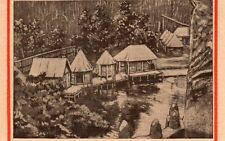 94 VINCENNES EXPOSITION COLONIALE AFRIQUE LONTAINE  IMAGE 1927 OLD PRINT