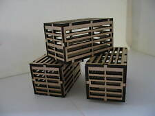 MAMOD /WILESCO  Accessories CRATES FOR WAGONS  Kit Unbuilt Steam/ Live Steam †