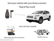 Plug-N-Play Remote Starter for 2014-2015 Jeep Cherokee w/Fobik Key-DBALL2 THCHD3