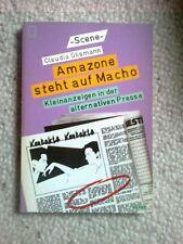 Cl. Glismann Amazone steht auf Macho Kleinanzeigen aus der alternativen Presse