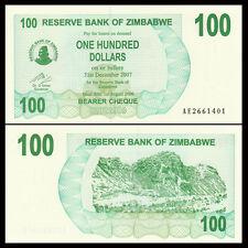 Zimbabwe 100 Dollars,  2006, P-42, UNC