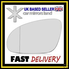 Left Passenger Wing Car Mirror Glass Replacement Wide Angle VW PASSAT B6 05-10