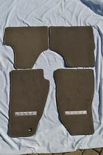 2007-2012 Dodge Nitro - 4 Piece Pebble-Grey Premium Carpet Floor Mats 1MS461K7AA