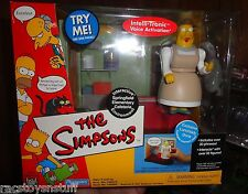 THE SIMPSONS SPRINGFIELD ELEMENTARY CAFETERIA WITH LUNCH LADY DORIS SET MIB